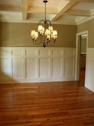 wainscoting dining room. Enclosed Dining Room - Large Traditional Medium Tone Wood Floor Idea In Atlanta Wainscoting