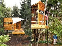 Concept Cool Kid Tree Houses 10 Treehouses For Kids Ideas On Pinterest Treehouse In Design Decorating