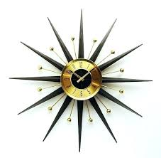 mid century starburst clock mid century starburst clock mid century starburst clock serviced atomic era design