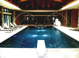mansion with indoor pool with diving board. Indoor Pool House Plans With Waterslide And Diving Board Home Mansion