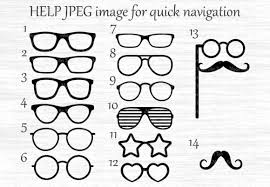 It is a vector image format for 2d graphics and 2d imagery. Glasses Graphic By Magicartlab Creative Fabrica