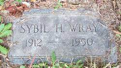 Sybil Haley Wray (1912-1950) - Find A Grave Memorial