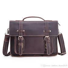 genuine leather briefcase for men 13 inch laptop bag real leather male shoulder handbag business men s messenger cross tote 88353