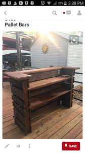 Bar /Tall table for Woody. Pallet Bar, Tiki Bar, Attention To Detail, Made  Like No Other, Comes With Serving Top & 2 Prep Shelves And A Black Powder  Coated ...