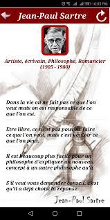 Citation De Jean Paul Sartre For Android Apk Download