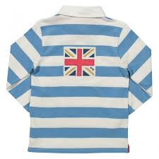 kite pale blue white stripe rugby shirt loading zoom