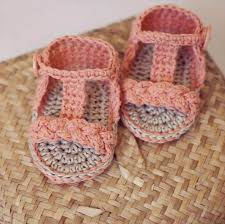 Crochet Baby Sandals Pattern Custom 48 Gorgeous Crochet Baby Gladiator Sandals DIY To Make