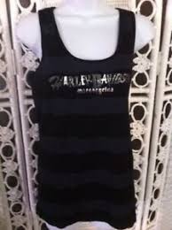 Harley Davidson Black Embellished Tank Top Large See Our