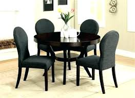 round table dining sets for 4 set with chairs oval glass top oval glass dining