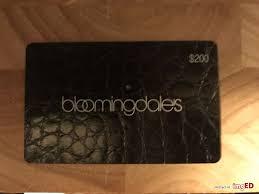 200 bloomingdales gift card
