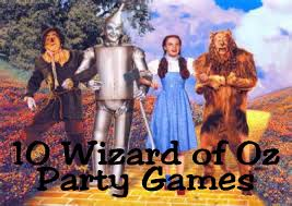 Wizard Of Oz Party Decorations 10 Wizard Of Oz Game Ideas Kandy Kreations