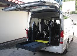 wheel chair lift for van. Wheelchair Lift Toyota Hiace Wheel Chair For Van