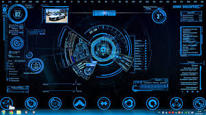 Animated 3d Wallpaper Jarvis Interface
