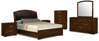 brick bedroom set. Perfect Bedroom Beverly 8Piece King Bedroom SetEnsemble De Chambre  Coucher 8  Pices Intended Brick Set E