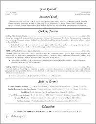 Resume Best Practices Cook Resume Objective Resume Objective Examples For Restaurant