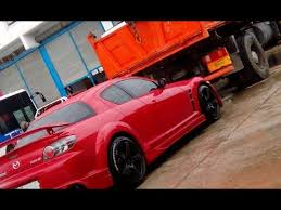 mazda rx8 modified red. mazda rx8 racing exhaust sound tuning greece tsoukalas modified red