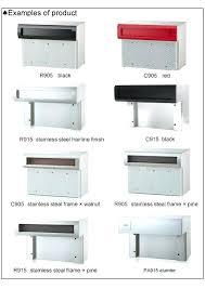 mailbox slot in wall commercial mailboxeailbox s at through wall mailbox slots