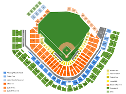 Pnc Park Seating Chart And Tickets