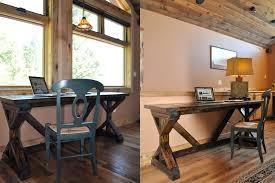 rustic desk diy