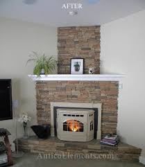 pin by antico elements on faux stone fireplace