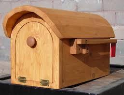 wooden mailbox designs. Wooden Mailbox Designs D