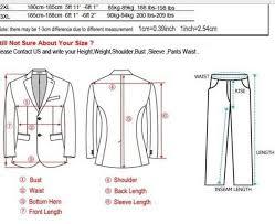 Measure For A Suit Suit Measurements Mens Fashion Suits