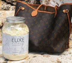 luxe fitness fat burning protein powder in vanilla luxe fitness workout protein