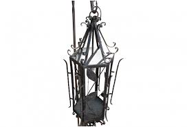 wrought iron hand made mexican chandelier