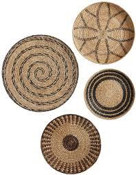 woven baskets wall art decorist