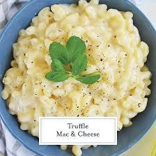 truffle mac and cheese easy truffled