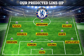 How Chelsea will line up against Aston Villa with Abraham ...
