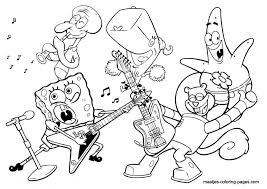 Music Coloring Pages Free Page