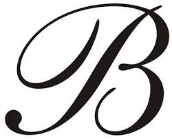 letter b clipart free caligraphy 5