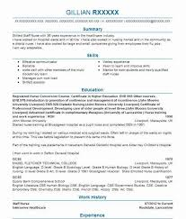 Curriculum Vitae For Nurses Interesting 28 Nursing CV Examples Templates LiveCareer