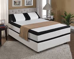 Bedroom Full Size Memory Foam Mattress With Grey Carpet And - Grey carpet bedroom