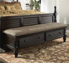 Millennium Key Town Bedroom Bench with 2 Drawers - AHFA - Bench ...