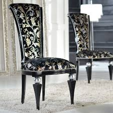 high back upholstered dining chairs. Luxurious And Elegant High-back Wood Dining Chair, Made In Italy Fully Upholstered High Back Chairs