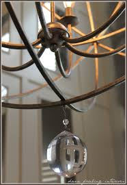 project sneak k and z gallerie s eclipse chandelier