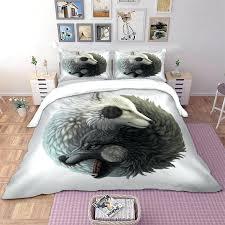 bed linen set twin full queen king double single size animal duvet cover pillow cases lovely