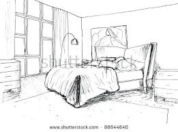 450x333 drawing bedroom drawn perspective 9 easy simple bedroom drawing e34 drawing