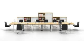 long office desks. Elegant Group Work Desk For Increasing Productivity : Long Thin Board Office Table And Black Desks F