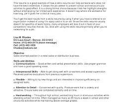 Hard Skills Examples Images - Resume Cover Letter Examples