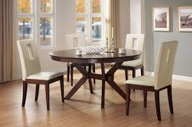 Contemporary Round Dining Table Kitchen Modern Round Dining Table Set Drop Leaf Kitchen Table