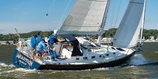 Sailboat Comparison Chart Boat Review Tartan 395 Cruising World
