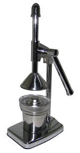 royal manufacturer s manual lever press citrus juicer