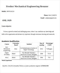 Sample Resumes For Freshers Engineers 55 Engineering Resume Samples Pdf Doc Free Premium