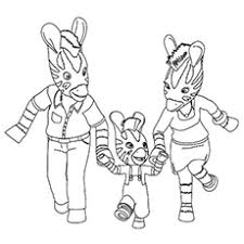 Small Picture Top 20 Free Printable Zebra Coloring Pages Online