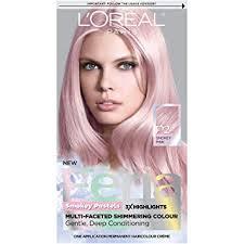 Feria Loreal Color Chart Loreal Paris Hair Colour Feria Pastels Dye Smokey Pink P2