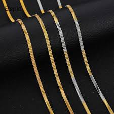<b>Eleple Titanium</b> Steel Chain Men <b>Stainless Steel</b> Gold Color ...