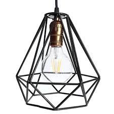 wire cage chandelier unique new lamp cover loft industrial edison rh spacemag com diy chandelier frame